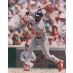 Cardinals Ozzie Smith signed 8 x 10 photo