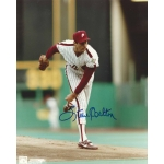 Steve Carlton signed 8 x 10 photo