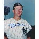 Whitey Ford signed 8 x 10 photo