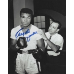 Angelo Dundee signed 8 x 10 photo COA