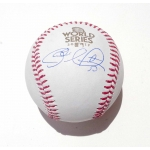 Charlie Morton signed 2017 Official Major League World Series Baseball
