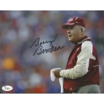 Bobby Bowden signed 8 x 10 photo w/JSA Authentication