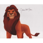 The Lion King JAMES EARL JONES signed 8 x 10 photo COA