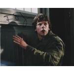 JESSE EISENBERG signed autographed 8 x 10 photo COA