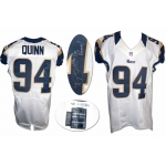 Robert Quinn 2012 signed game issued St. Louis Rams Football Jersey size 48