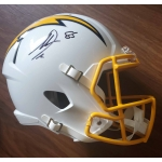Antonio Gates signed San Diego Chargers Full Size Replica Football Helmet Beckett Authenticated