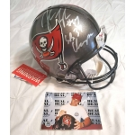 John Lynch signed & inscribed Tampa Bay Buccaneers full size Pro Line Football Helmet