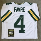 Brett Favre signed & inscribed Green Bay Packers Football Jersey Favre COA