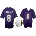 Lamar Jackson signed Baltimore Ravens custom football jersey JSA Authenticated
