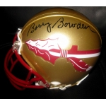 Bobby Bowden Florida State Seminoles signed mini-helmet JSA Authenticated