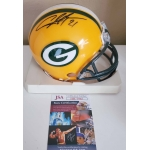 Charles Woodson signed Green Bay Packers Football Mini Helmet JSA Authenticated