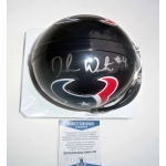 Deshaun Watson signed Houston Texans mini helmet Beckett Authenticated