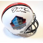 Joe Montana signed Hall of Fame Football Mini Helmet JSA Authenticated