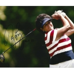Nancy Lopez signed 8 x 10 photo