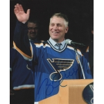Brett Hull signed 8 x 10 photo