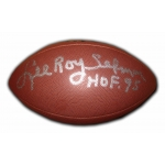 Lee Roy Selmon signed Wilson NFL Football COA