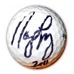 LPGA Nancy Lopez signed Golf Ball COA