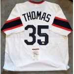 Frank Thomas signed Chicago White Sox custom baseball jersey JSA Authenticated