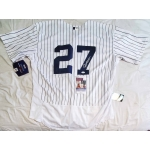 Giancarlo Stanton signed New York Yankees jersey size 48 JSA Authenticated