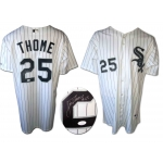 Jim Thome signed Chicago White Sox jersey size 52 JSA Authenticated