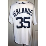 Justin Verlander signed Detroit Tigers jersey JSA Authenticated