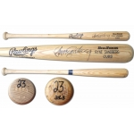 Ryne Sandberg signed 1993 Rawlings game bat