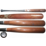 Adam Jones signed uncracked game used X Bat Baseball Bat