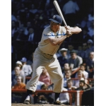 Dodgers Duke Snider signed 8 x 10 photo COA