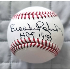 Brooks Robinson signed Major League Baseball JSA Authenticated