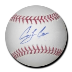 Carlos Correa Astros signed Official Major League Baseball w/JSA Authentication
