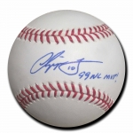 Chipper Jones signed Official Major League Baseball JSA #J64200