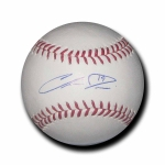 Chris Davis signed Official Major League Baseball JSA #K13290