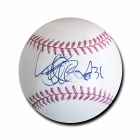 Ichiro Suzuki signed Official Major League Baseball Cancer Awareness JSA Authenticated