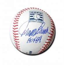 Johnny Bench signed Official Major League Hall of Fame Baseball JSA Authenticated
