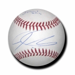 Josh Hamilton signed Official Major League Baseball COA