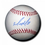 Matt Moore signed Official Major League Baseball JSA #J64180