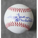 Reggie Jackson signed Official Major League Baseball JSA Authenticated