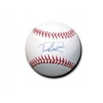 Rhys Hoskins signed Official Major League Baseball JSA Authenticated