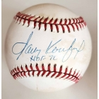 Sandy Koufax signed & inscribed Official National League Baseball JSA Authenticated