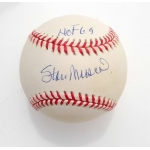 Stan Musial signed Official National League Baseball JSA Authenticated