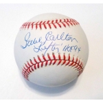 Steve Carlton signed Official National League Baseball JSA Authenticated