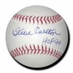 Steve Carlton signed Official Major League Baseball JSA  COA