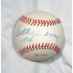 Ted Williams signed & inscribed Official American League Baseball w/Upper Deck COA