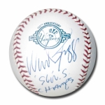 Wade Boggs signed Official Major League Yankees 100th Anniversary Baseball