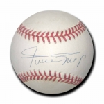 Willie Mays signed Official National League Baseball JSA Authenticated