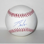 Jorge Soler signed Official Major League Baseball