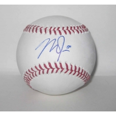 Mike Trout signed Official Major League Baseball with full JSA LOA