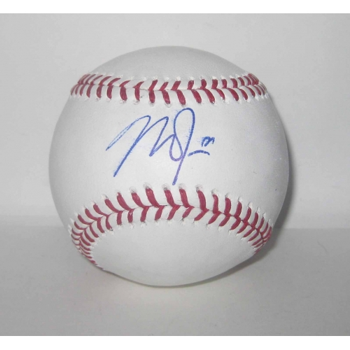 1b126389ac4 Mike Trout signed Official Major League Baseball with full JSA LOA